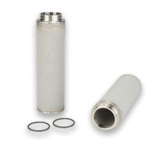 Elemento Filtrante Inox Sinterizado Vapor Culinário 1.1/4'' 25 Micra