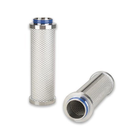 Elemento Filtrante Inox Plissado Ar/Vapor Estéril P-SRF V 07/25 - 1.1/4''