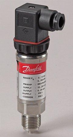"""060G4313 Transmissor de Pressão MBS 4751 0 a 400 bar 1/2"""" EEX Danfoss"""