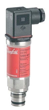 """060G3213 Transmissor de Pressão MBS4010 0 a 10 bar 1/2"""" Danfoss"""