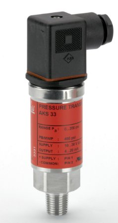 "060G2115 Transmissor de Pressão AKS33 0 a 25 bar 1/4"" Danfoss"