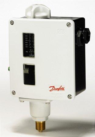 017-520366 Pressostato RT 116 FP (1 a 10) DA (0,3 a 1,3) 3/8'' Danfoss