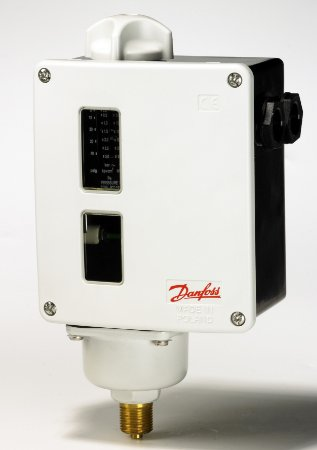 017-521566 Pressostato RT 121 FP (-1 a 0) DA (0,09 a 0,4) 3/8'' Danfoss