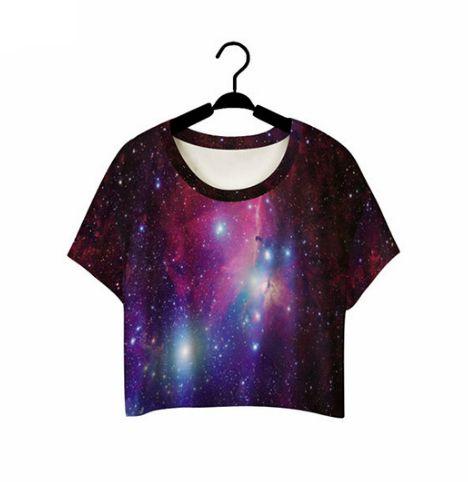 Camiseta Summer Cropped - Várias Estampas - Dibby Store 33092b9f88a95