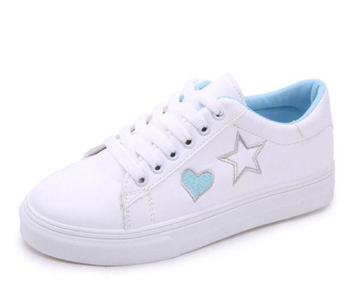 Tênis de Couro HEART   STAR - Várias Cores - Dibby Store 10ef9d914a2ce