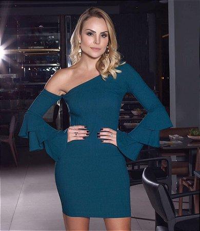 Vestido Layla Verde