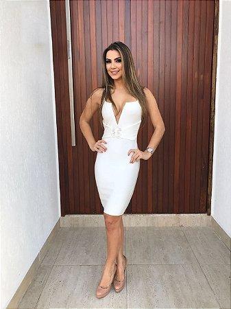 Vestido Bandage Branco