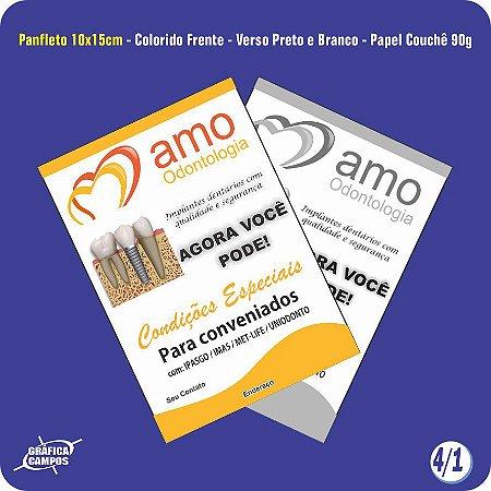 Panfletos 4/1 - Papel Couchê 90g