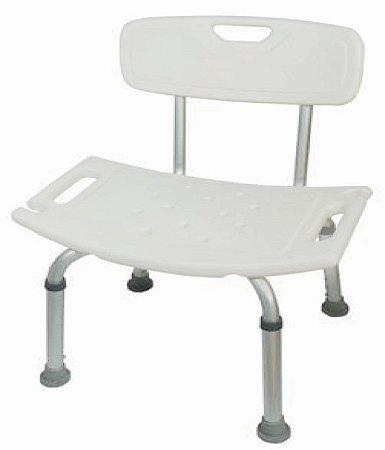 Cadeira ou Banco Ortopédico para Banho com Encosto - DB-241