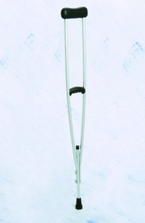 Muleta Axilar em Alumínio com Regulagem Borboleta - Dilepé - DB-300