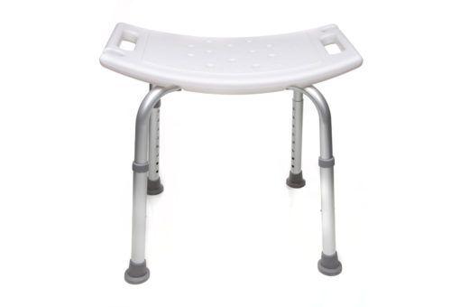 Banco ou cadeira de banho para idosos SEM encosto - Supermedy - BB