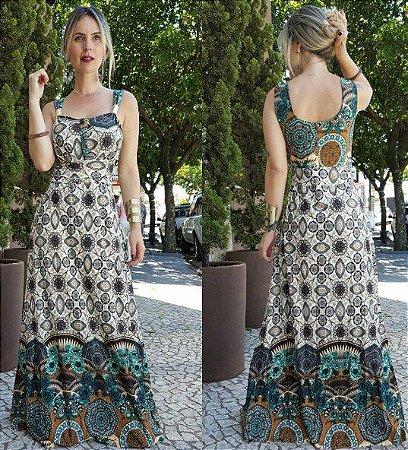 Vestido Longo Mandala - Lançamento 2017