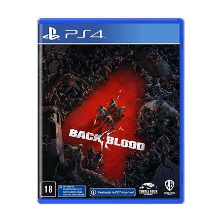 Jogo Back 4 Blood - PS4