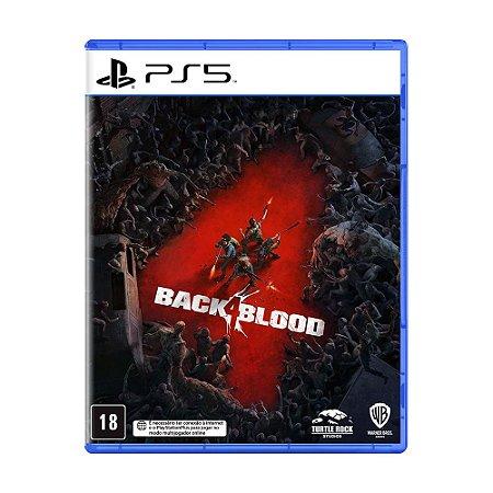 Jogo Back 4 Blood - PS5