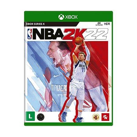 Jogo NBA 2K22 - Xbox Series X