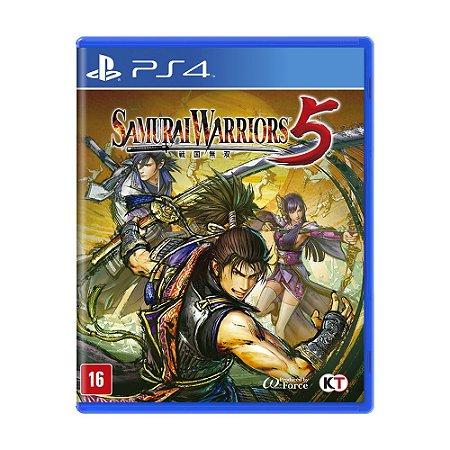 Jogo Samurai Warriors 5 - PS4