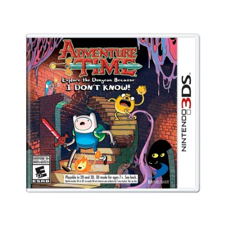 Jogo Adventure Time: Explore the Dungeon Because I Don't Know - 3DS