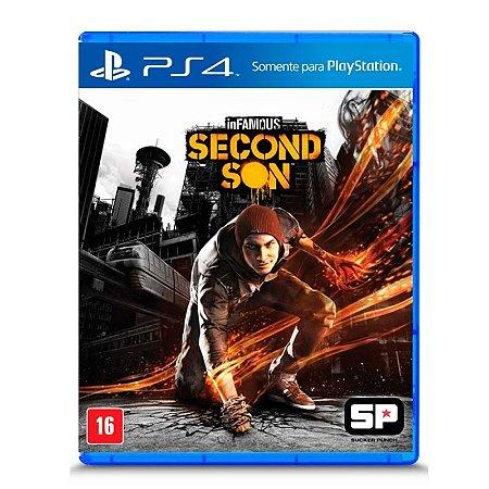 Jogo inFAMOUS Second Son - PS4