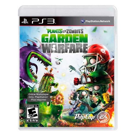 Jogo Plants vs Zombies: Garden Warfare - PS3