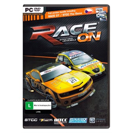 Jogo Race On: WTCC 08 & US Muscle - PC