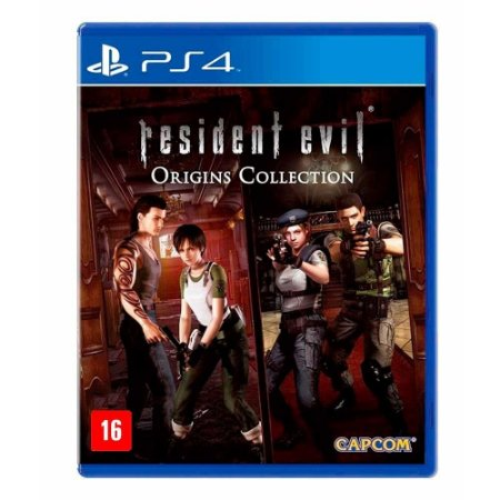 Jogo Resident Evil Origins Collection - PS4