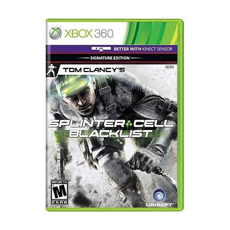 Jogo Tom Clancy's Splinter Cell: Blacklist (Signature Edition) - Xbox 360