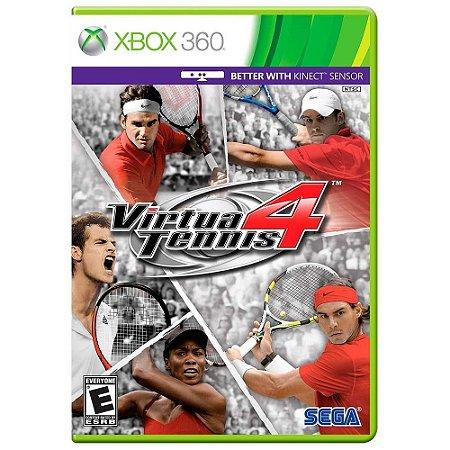 Jogo Virtua Tennis 4 - Xbox 360