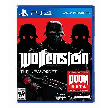 Jogo Wolfenstein: The New Order - PS4