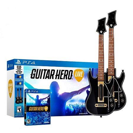 Kit Guitar Hero: Live (2 Guitar Bundle) - PS4