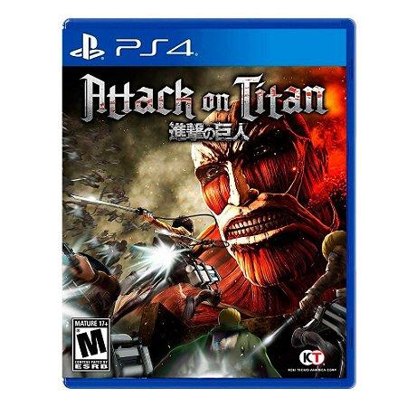 Jogo Attack on Titan - PS4