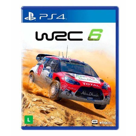 Jogo WRC 6: FIA World Rally Championship - PS4