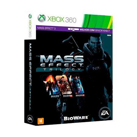 Jogo Mass Effect Trilogy - Xbox 360