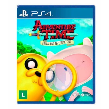 Jogo Adventure Time: Finn and Jake Investigations - PS4