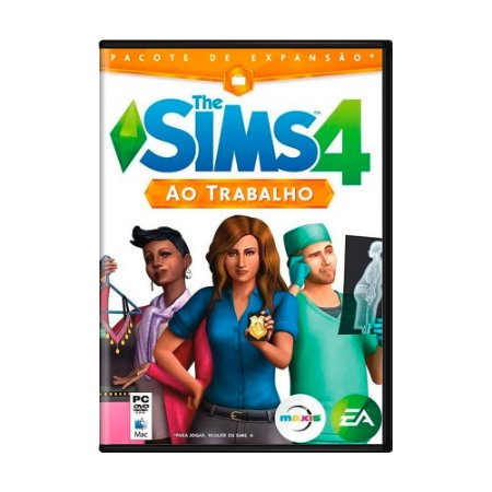 Jogo The Sims 4: Ao Trabalho - PC