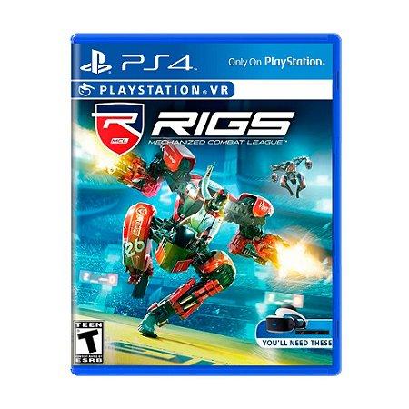 Jogo RIGS: Mechanized Combat League - PS4 VR