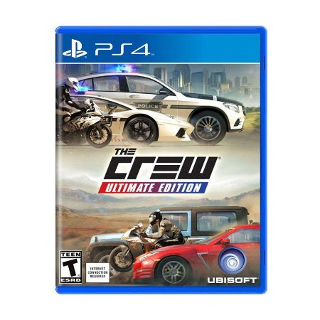 Jogo The Crew: Ultimate Edition - PS4