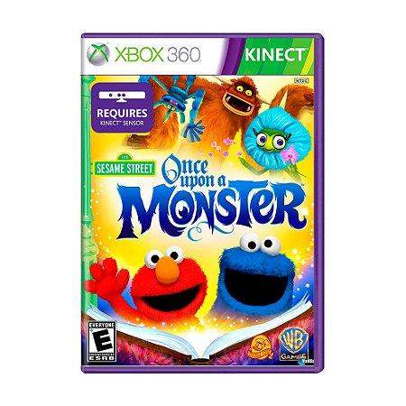 Jogo Plaza Sesamo: Erase Una Vez Un Monstruo - Xbox 360