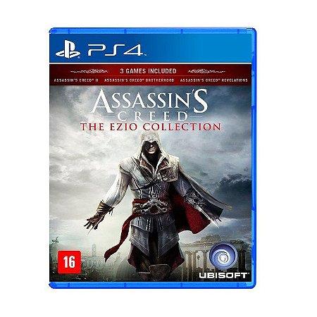Jogo Assassin's Creed: Ezio Collection - PS4