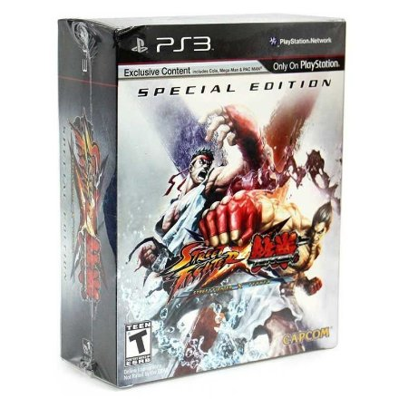Jogo Street Fighter X Tekken (Special Edition) - PS3