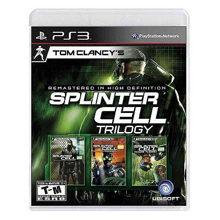 Jogo Tom Clancy's Splinter Cell: Trilogy - PS3