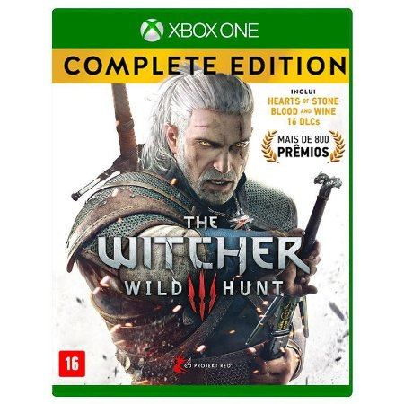 Jogo The Witcher 3: Wild Hunt (Complete Edition) - Xbox One