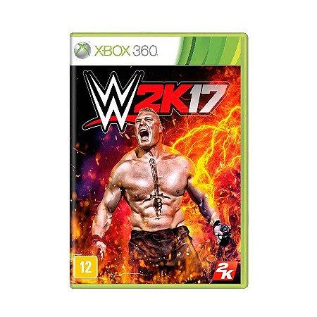 Jogo WWE 2K17 - Xbox 360