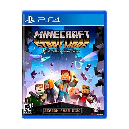 Jogo Minecraft: Story Mode (Season Pass) - PS4