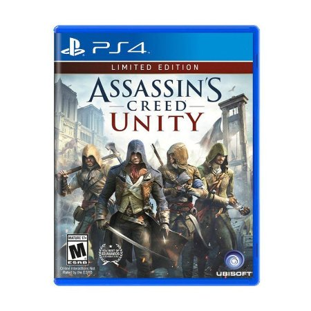 Jogo Assassins Creed Unity (Limited Edition) - PS4