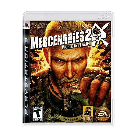 Jogo Mercenaries 2: World in Flames - PS3
