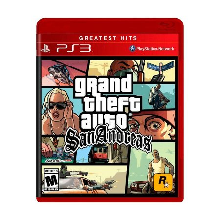 Jogo Grand Theft Auto: San Andreas (GTA) - PS3