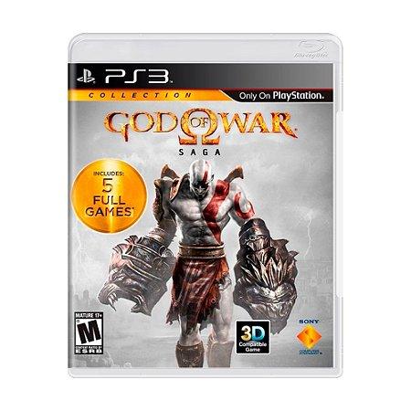 Jogo God of War: Saga - PS3