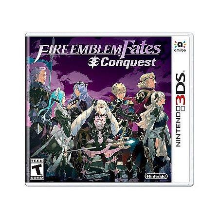 Jogo Fire Emblem Fates: Conquest - 3DS