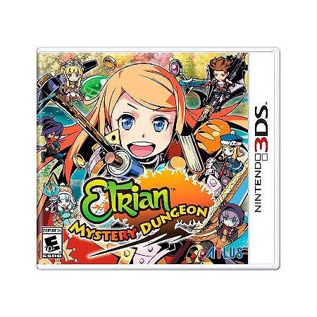 Jogo Etrian Mystery Dungeon - 3DS