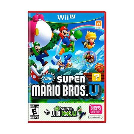 Jogo New Super Mario Bros U + New Super Luigi U - Wii U